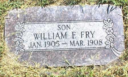 FRY, WILLIAM F. - Nowata County, Oklahoma | WILLIAM F. FRY - Oklahoma Gravestone Photos