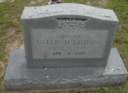 GUTHRIE, NELLIE M. - Nowata County, Oklahoma | NELLIE M. GUTHRIE - Oklahoma Gravestone Photos