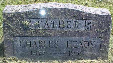 HEADY, CHARLES - Nowata County, Oklahoma   CHARLES HEADY - Oklahoma Gravestone Photos