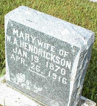 HENDRICKSON, MARY - Nowata County, Oklahoma | MARY HENDRICKSON - Oklahoma Gravestone Photos