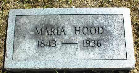 HOOD, MARIA - Nowata County, Oklahoma   MARIA HOOD - Oklahoma Gravestone Photos