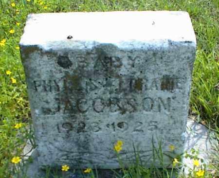 JACOBSON, PHYLLIS LORAINE - Nowata County, Oklahoma   PHYLLIS LORAINE JACOBSON - Oklahoma Gravestone Photos