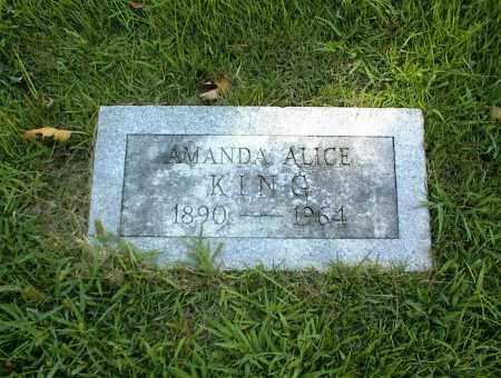 KING, AMANDA ALICE - Nowata County, Oklahoma | AMANDA ALICE KING - Oklahoma Gravestone Photos