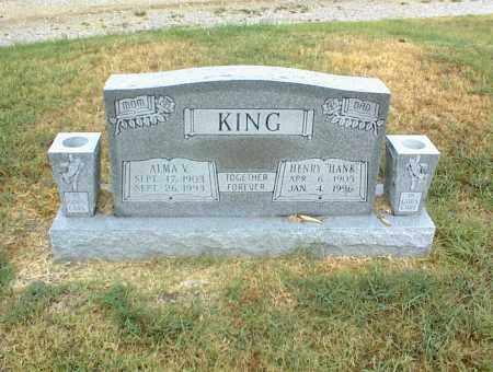 KING, HENRY - Nowata County, Oklahoma | HENRY KING - Oklahoma Gravestone Photos