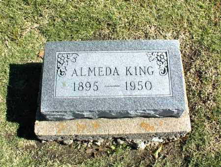 KING, ALMEDA - Nowata County, Oklahoma | ALMEDA KING - Oklahoma Gravestone Photos