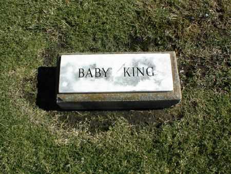 KING, BABY - Nowata County, Oklahoma | BABY KING - Oklahoma Gravestone Photos