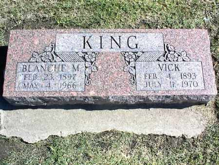KING, VICK - Nowata County, Oklahoma | VICK KING - Oklahoma Gravestone Photos