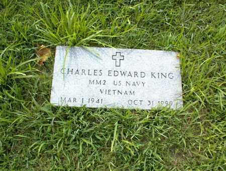KING, CHARLES EDWARD - Nowata County, Oklahoma   CHARLES EDWARD KING - Oklahoma Gravestone Photos