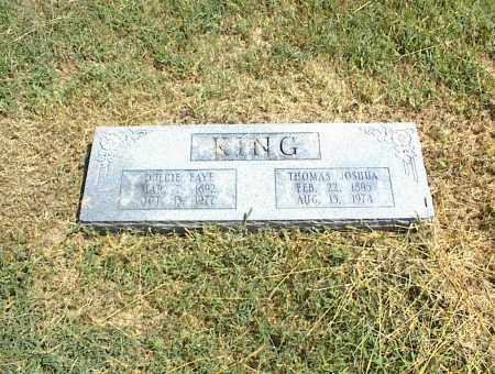 KING, THOMAS JOSHUA - Nowata County, Oklahoma | THOMAS JOSHUA KING - Oklahoma Gravestone Photos