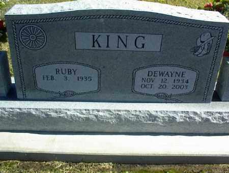 KING, DEWAYNE - Nowata County, Oklahoma | DEWAYNE KING - Oklahoma Gravestone Photos