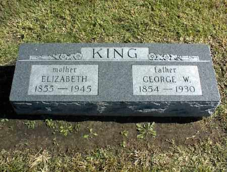 KING, ELIZABETH - Nowata County, Oklahoma | ELIZABETH KING - Oklahoma Gravestone Photos