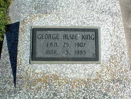 KING, GEORGE ALVIE - Nowata County, Oklahoma | GEORGE ALVIE KING - Oklahoma Gravestone Photos