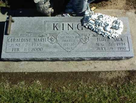 KING, GERALDINE MARIE - Nowata County, Oklahoma | GERALDINE MARIE KING - Oklahoma Gravestone Photos