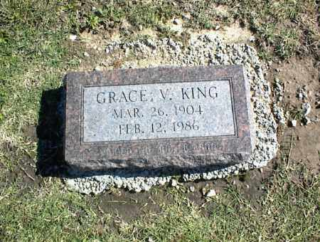 KING, GRACE V. - Nowata County, Oklahoma | GRACE V. KING - Oklahoma Gravestone Photos