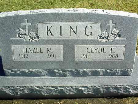 KING, CLYDE E. - Nowata County, Oklahoma | CLYDE E. KING - Oklahoma Gravestone Photos
