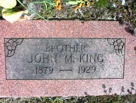 KING, JOHN M. - Nowata County, Oklahoma | JOHN M. KING - Oklahoma Gravestone Photos