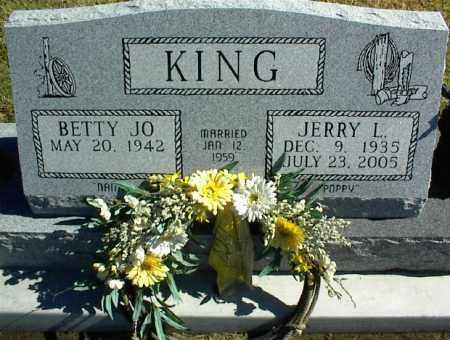 KING, JERRY L. - Nowata County, Oklahoma | JERRY L. KING - Oklahoma Gravestone Photos