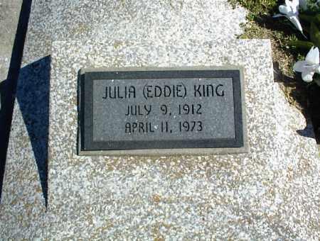 KING, JULIA - Nowata County, Oklahoma | JULIA KING - Oklahoma Gravestone Photos