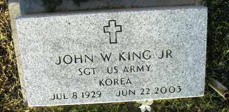 KING, JOHN W. JR. - Nowata County, Oklahoma | JOHN W. JR. KING - Oklahoma Gravestone Photos