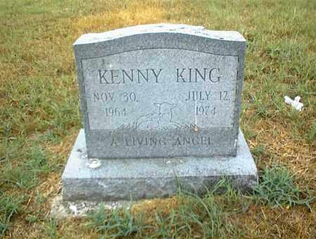 KING, KENNY - Nowata County, Oklahoma   KENNY KING - Oklahoma Gravestone Photos
