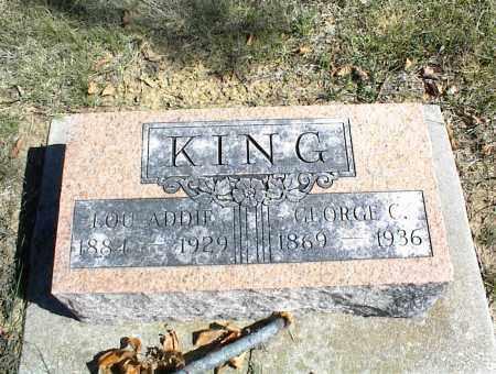 KING, GEORGE C. - Nowata County, Oklahoma   GEORGE C. KING - Oklahoma Gravestone Photos