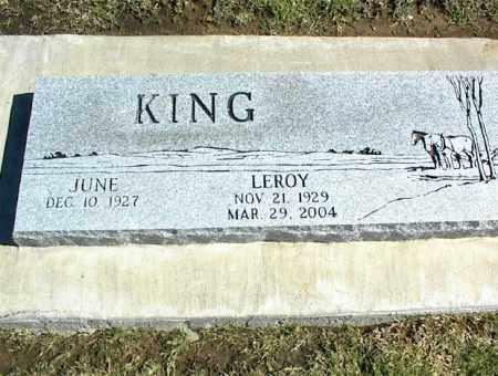 KING, LEROY - Nowata County, Oklahoma | LEROY KING - Oklahoma Gravestone Photos