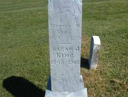 KING, SARAH J. - Nowata County, Oklahoma | SARAH J. KING - Oklahoma Gravestone Photos