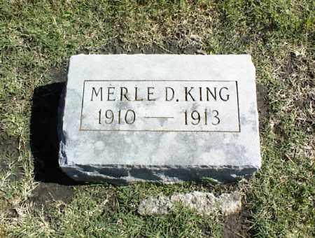 KING, MERLE D. - Nowata County, Oklahoma | MERLE D. KING - Oklahoma Gravestone Photos