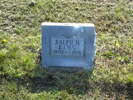 KING, RALPH H. - Nowata County, Oklahoma | RALPH H. KING - Oklahoma Gravestone Photos
