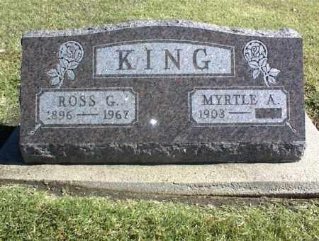 KING, MYRTLE A. - Nowata County, Oklahoma | MYRTLE A. KING - Oklahoma Gravestone Photos