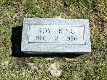KING, ROY - Nowata County, Oklahoma   ROY KING - Oklahoma Gravestone Photos
