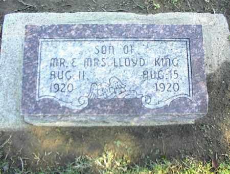 KING, SON - Nowata County, Oklahoma | SON KING - Oklahoma Gravestone Photos