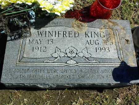 KING, WINIFRED - Nowata County, Oklahoma | WINIFRED KING - Oklahoma Gravestone Photos