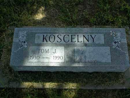KOSCELNY, TOM J. - Nowata County, Oklahoma   TOM J. KOSCELNY - Oklahoma Gravestone Photos