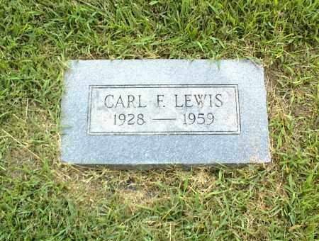 LEWIS, CARL F. - Nowata County, Oklahoma | CARL F. LEWIS - Oklahoma Gravestone Photos