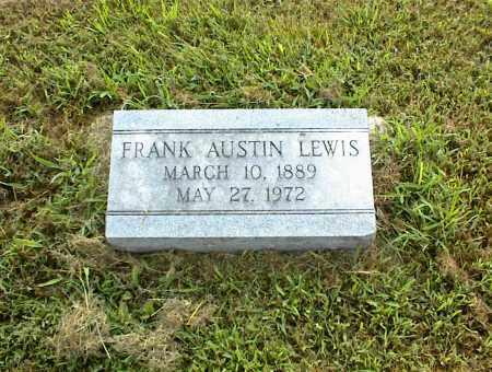 LEWIS, FRANK AUSTIN - Nowata County, Oklahoma   FRANK AUSTIN LEWIS - Oklahoma Gravestone Photos