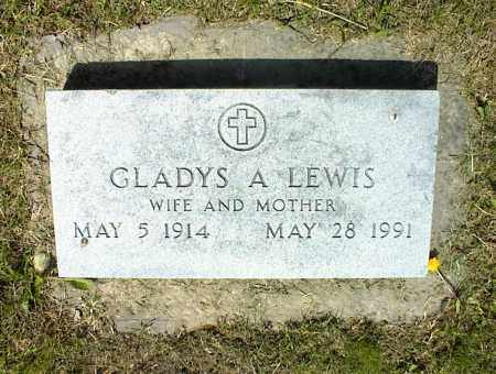LEWIS, GLADYS A. - Nowata County, Oklahoma | GLADYS A. LEWIS - Oklahoma Gravestone Photos