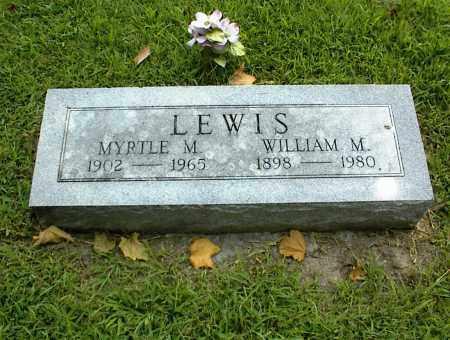 LEWIS, WILLIAM M. - Nowata County, Oklahoma   WILLIAM M. LEWIS - Oklahoma Gravestone Photos