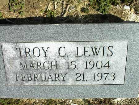 LEWIS, TROY C. - Nowata County, Oklahoma | TROY C. LEWIS - Oklahoma Gravestone Photos