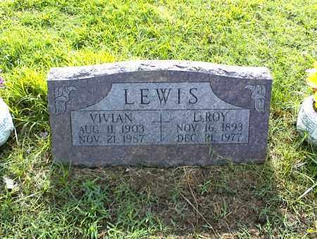 LEWIS, VIVIAN - Nowata County, Oklahoma   VIVIAN LEWIS - Oklahoma Gravestone Photos