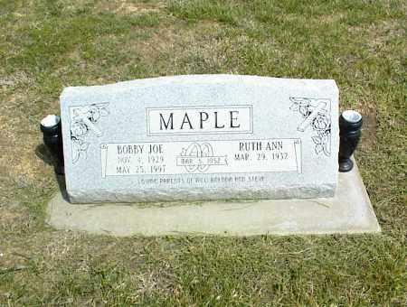 MAPLE, BOBBY JOE - Nowata County, Oklahoma   BOBBY JOE MAPLE - Oklahoma Gravestone Photos