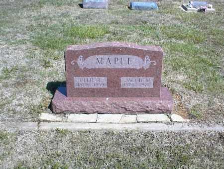 MAPLE, JACOB M. - Nowata County, Oklahoma | JACOB M. MAPLE - Oklahoma Gravestone Photos