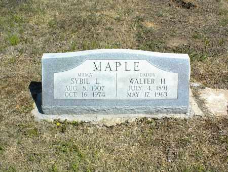 MAPLE, SYBIL L. - Nowata County, Oklahoma | SYBIL L. MAPLE - Oklahoma Gravestone Photos