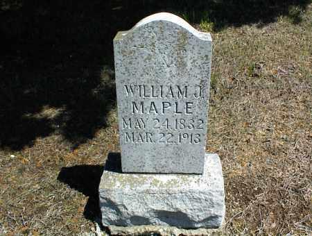MAPLE, WILLIAM J. - Nowata County, Oklahoma | WILLIAM J. MAPLE - Oklahoma Gravestone Photos