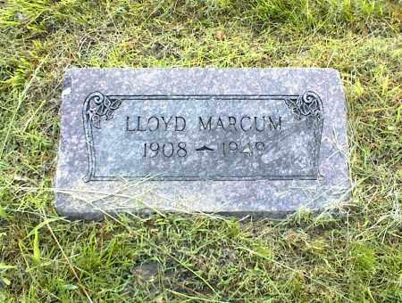 MARCUM, LLOYD - Nowata County, Oklahoma | LLOYD MARCUM - Oklahoma Gravestone Photos