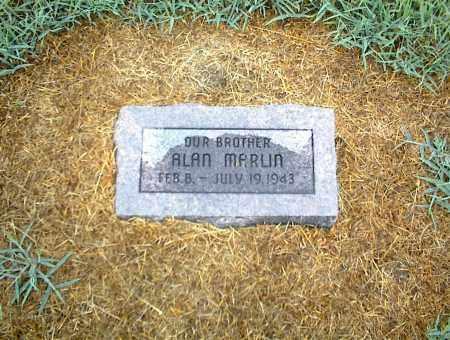 MARLIN, ALAN - Nowata County, Oklahoma   ALAN MARLIN - Oklahoma Gravestone Photos