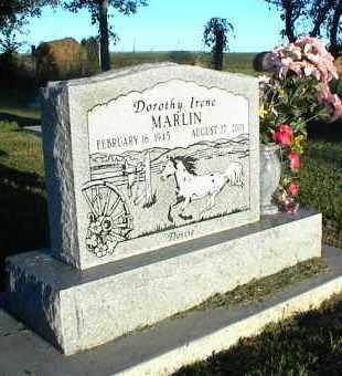 MARLIN, DOROTHY IRENE - Nowata County, Oklahoma | DOROTHY IRENE MARLIN - Oklahoma Gravestone Photos