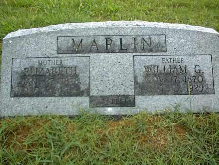 MARLIN, WILLIAM G. - Nowata County, Oklahoma | WILLIAM G. MARLIN - Oklahoma Gravestone Photos