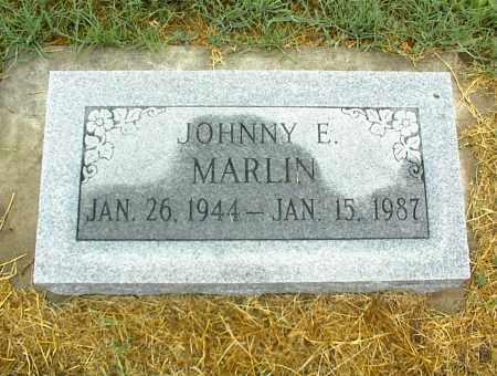 MARLIN, JOHNNY E. - Nowata County, Oklahoma | JOHNNY E. MARLIN - Oklahoma Gravestone Photos