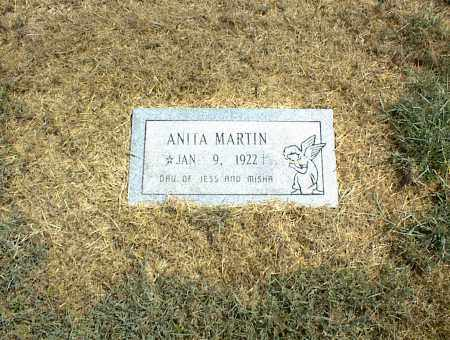 MARTIN, ANITA - Nowata County, Oklahoma   ANITA MARTIN - Oklahoma Gravestone Photos